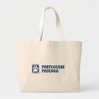 Azul de Podengo del portugués Bolsas