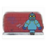 Azul de RNoPZ Billy Tarjeta Postal