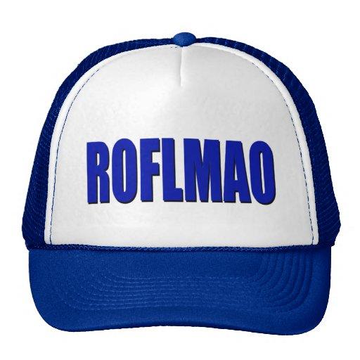 Azul de ROFLMAO Gorro De Camionero