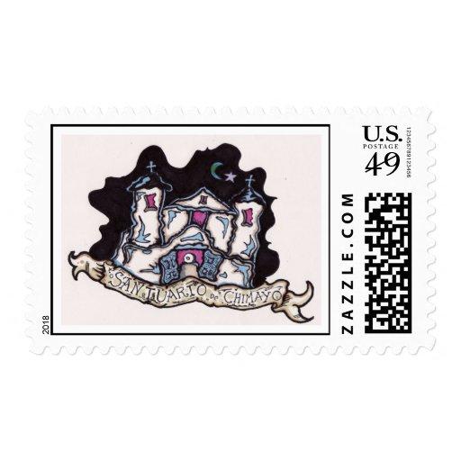 azul de santuario de chimayo sellos