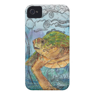 Azul de Shelley iPhone 4 Cárcasas