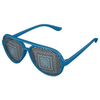 Azul de Squareception (modelo cuadrado) Lentes De Fiesta