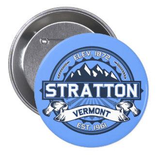 Azul de Stratton Pin Redondo De 3 Pulgadas