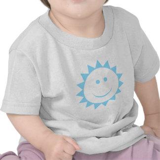 Azul de Sun Camiseta