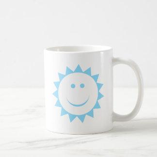 Azul de Sun Taza De Café