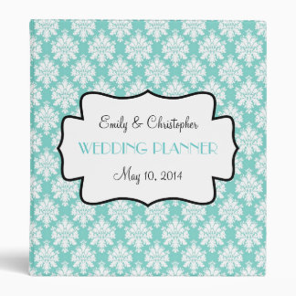 Azul de Tiffany, para usted carpeta del boda