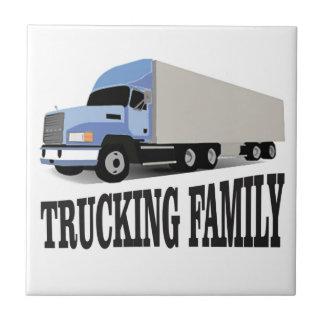 azul de trueque de la familia azulejo cuadrado pequeño