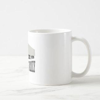 azul de trueque de la familia taza de café