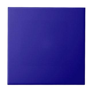 Azul de ultramar azulejo cuadrado pequeño