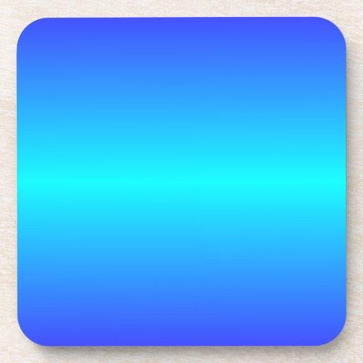 Azul de ultramar ciánico y eléctrico eléctrico hor posavasos de bebidas