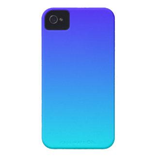 Azul de ultramar eléctrico a la pendiente ciánica  iPhone 4 Case-Mate fundas