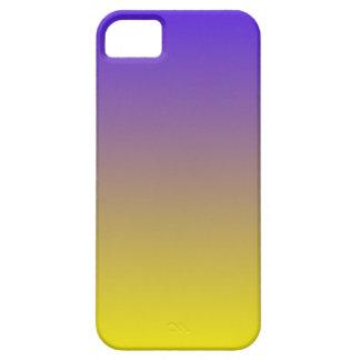 Azul de ultramar eléctrico a la pendiente horizont iPhone 5 Case-Mate fundas