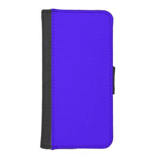 Azul de ultramar eléctrico fundas cartera de iPhone 5