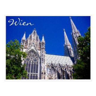 azul de Viena del votiv Tarjetas Postales