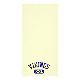 Azul de Vikingos XXL Tarjeta Personal