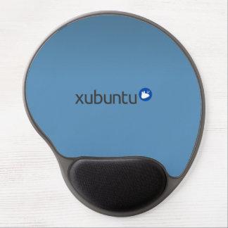 Azul de Xubuntu Linux Alfombrillas De Ratón Con Gel