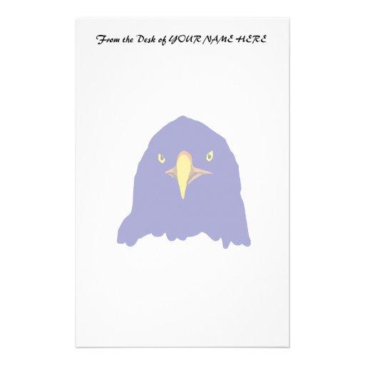 azul del águila papeleria de diseño
