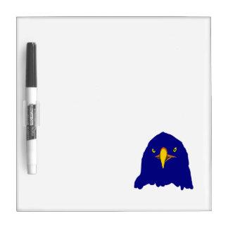 azul del águila pizarra blanca