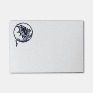 Azul del anillo del dragón post-it® nota