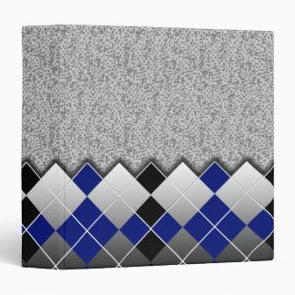 """azul del argyle carpeta 1 1/2"""""""