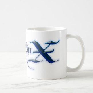 Azul del arma X Taza Clásica