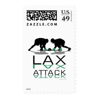 Azul del ataque de LAX de los muchachos de LaCross Sello