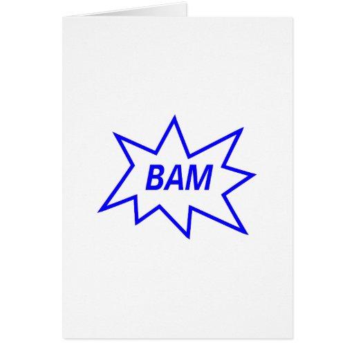 Azul del Bam Tarjeton