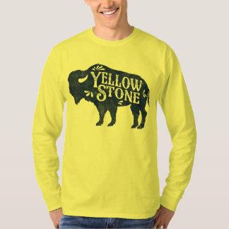 Azul del búfalo de Yellowstone Playeras