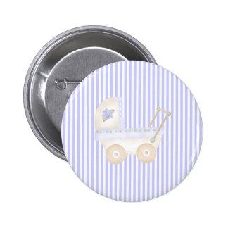 Azul del carro de bebé pins