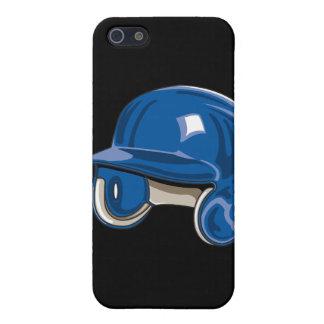 azul del casco de los bers del béisbol iPhone 5 carcasa