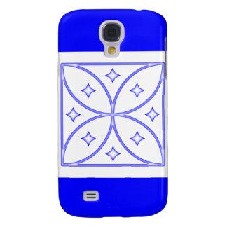 Azul del caso de Iphone 3 de las estrellas de la m