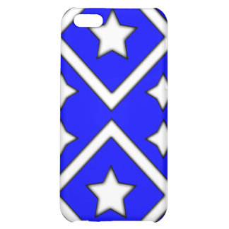 Azul del caso de Iphone 4 de la estrella del diama