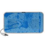 azul del chapoteo altavoces de viajar