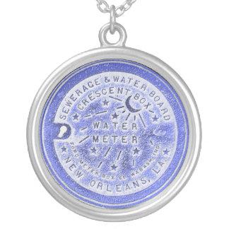 Azul del contador del agua de New Orleans Colgante