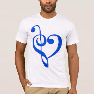 Azul del corazón de la música playera