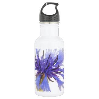 Azul del Cornflower Botella De Agua De Acero Inoxidable