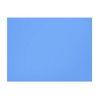 Azul del Cornflower Impresion De Lienzo