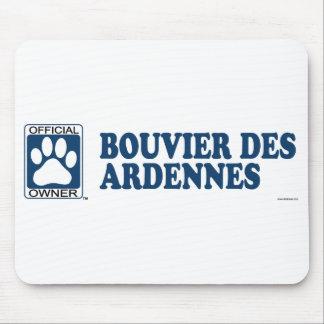 Azul del DES Ardenas de Bouvier Tapete De Raton
