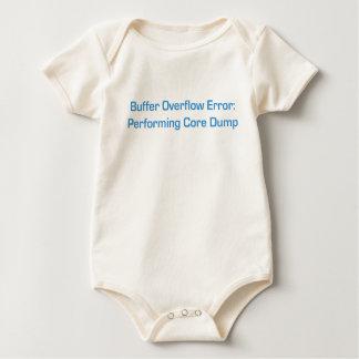 Azul del desbordamiento del almacenador body para bebé