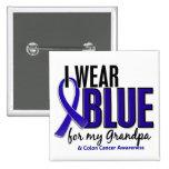Azul del desgaste del cáncer de colon I para mi ab Pin