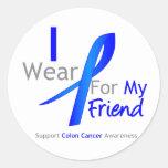 Azul del desgaste del cáncer de colon I para mi am Etiquetas
