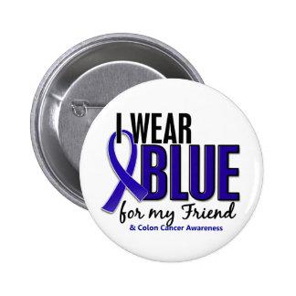 Azul del desgaste del cáncer de colon I para mi am Pin