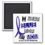 Azul del desgaste del cáncer de colon I para mi ma Iman De Nevera