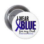Azul del desgaste del cáncer de colon I para mi pa Pin