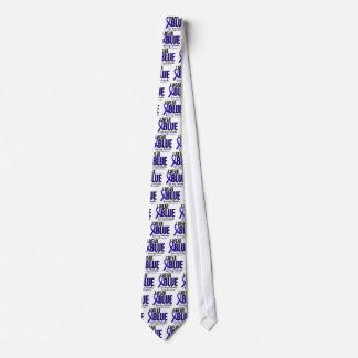 Azul del desgaste del cáncer de colon I para mis Corbatas Personalizadas
