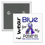 Azul del desgaste del cáncer de colon I para mis p Pin