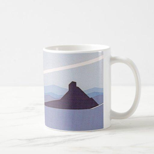 Azul del desierto tazas