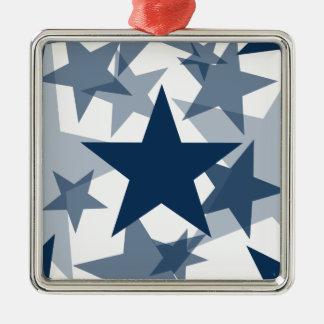 Azul del deslumbramiento de las estrellas 3 adorno
