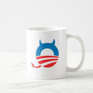 Azul del diablo de Obama - Copy png Tazas De Café