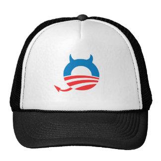 Azul del diablo de Obama Gorro De Camionero